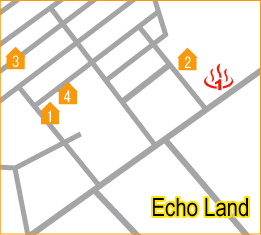 ECHO LAND AREA MAP
